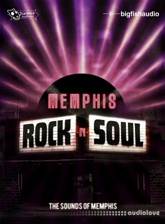Big Fish Audio Rock and Soul The Sounds of Memphis KONTAKT