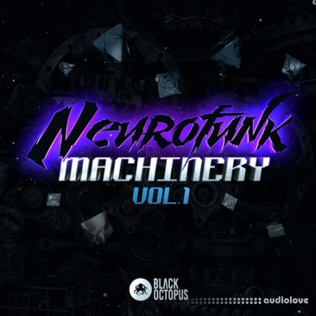 Black Octopus Sound Blackwarp Neurofunk Machinery Vol.1 MULTiFORMAT