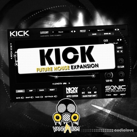 Vandalism KICK Future House Expansion WAV AiFF Synth Presets