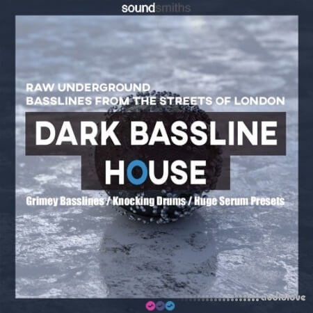 Soundsmiths Dark Bassline House WAV Synth Presets