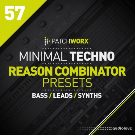 Loopmasters Patchworx 57 Minimal Techno Reason Combinators MULTiFORMAT