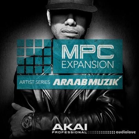 AKAI MPC Expansion Araab Muzik Trap Soul