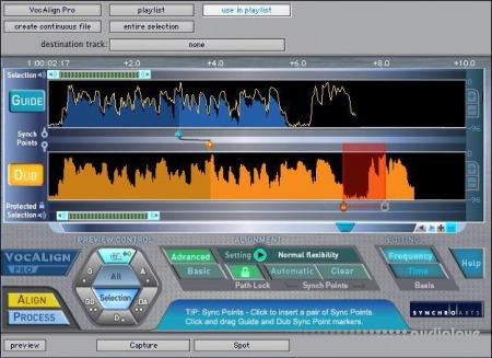 SynchroArts Vocalign Pro v4.2.2 MacOSX
