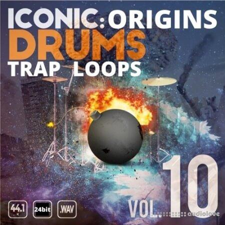 Epic Stock Media Iconic Origins Trap Drum Loops Vol.10 WAV