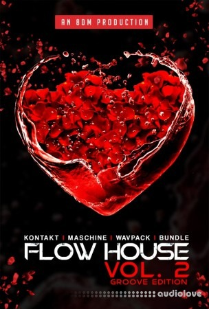 8Dio 8DM Flow House Vol.2 KONTAKT