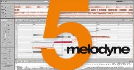 Celemony Melodyne 5 Studio v5.0.1.003 / v5.0.0.048 WiN MacOSX