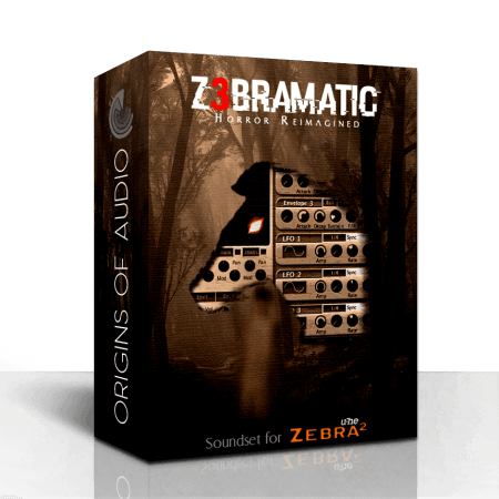 Origins of Audio Z3bramatic for Zebra 2 Synth Presets