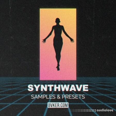 BVKER Synthwave WAV MiDi Synth Presets