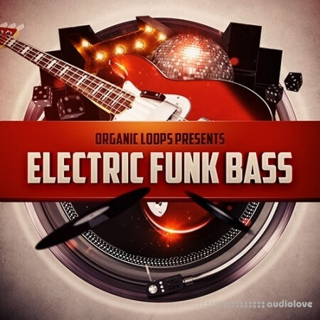 Organic Loops Electric Funk Bass WAV REX