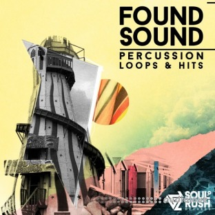Soul Rush Records Found Sound Percussion Hits and Loops Vol.2