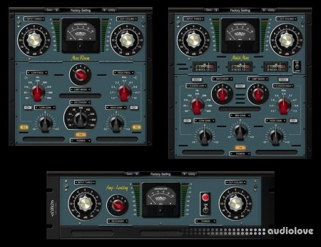Nomad Factory Analog Mastering Tools