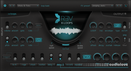 Output Sounds REV X-Loops incl. NKS Update KONTAKT