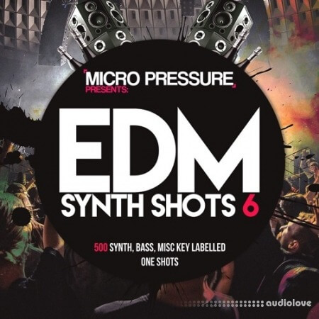 HY2ROGEN EDM Synth Shots 6 MULTiFORMAT