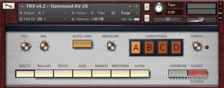 Forgotten Keys FK9 Hammond Auto-Vari 28 v4.2 KONTAKT