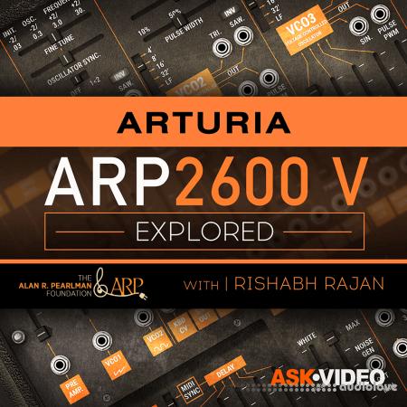 Ask Video Arturia V 106 ARP 2600 V Explored