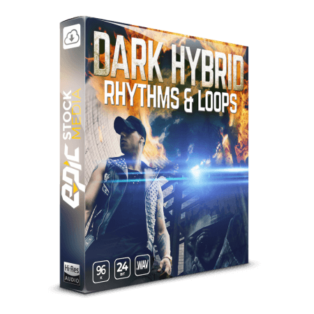 Epic Stock Media Dark Hybrid Rhythms and Loops