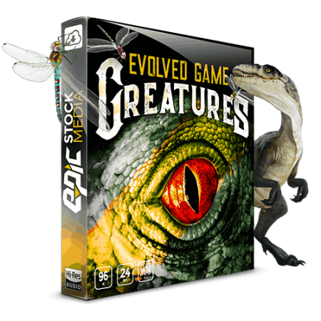 Epic Stock Media Evolved Game Creatures