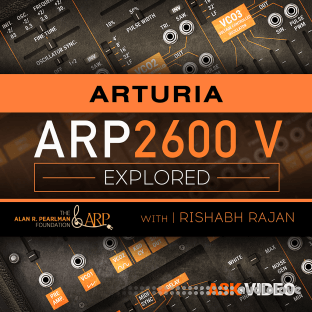 Ask Video Arturia V 106 ARP 2600 V Explored