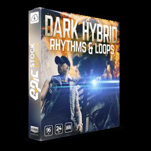Epic Stock Media Dark Hybrid Rhythms and Loops