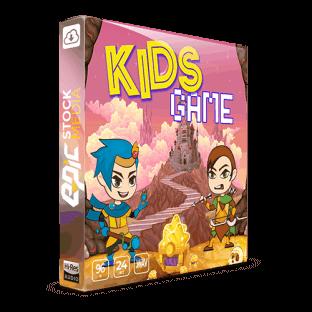 Epic Stock Media Kids Game