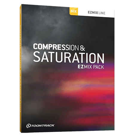 Toontrack Compression and Saturation EZmix Pack