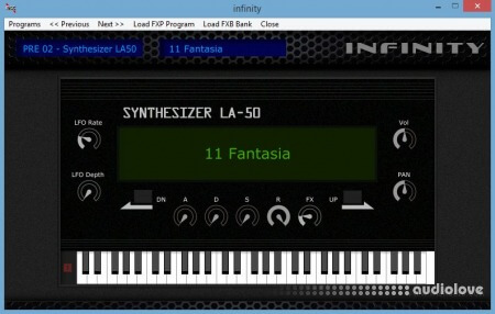 Irish Acts Studio PRE 02 Synthesizer LA-50 Expansion Synth Presets