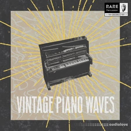 RARE Percussion Vintage Piano Waves