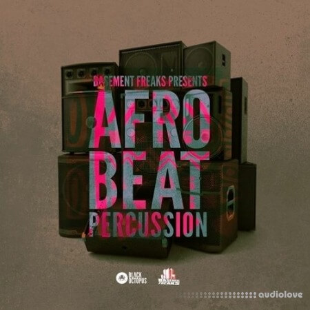 Black Octopus Sound Afrobeat Percussion by Basement Freaks