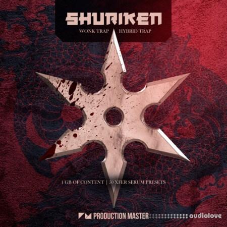 Production Master Shuriken Wonk and Hybrid Trap MULTiFORMAT