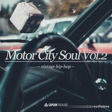Capsun ProAudio Motor City Soul Vol.2 Vintage Hip Hop