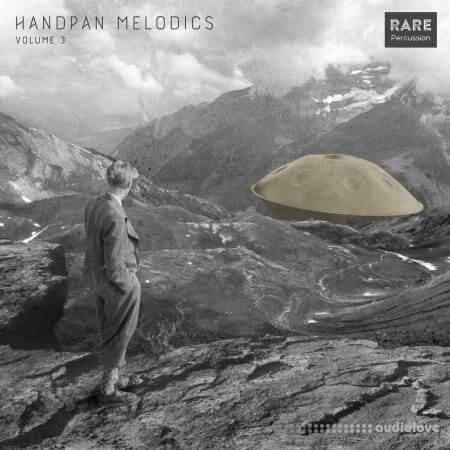 RARE Percussion Handpan Melodics Vol.3