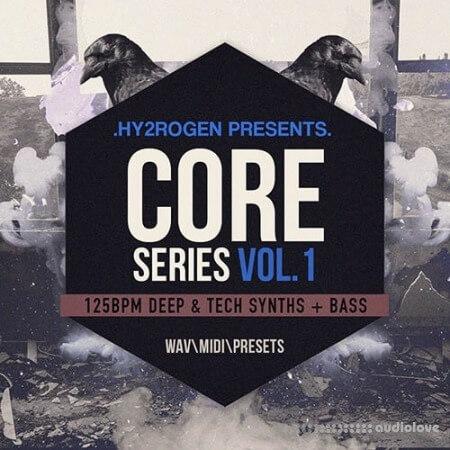 HY2ROGEN Core Series Vol.1 WAV MiDi Synth Presets