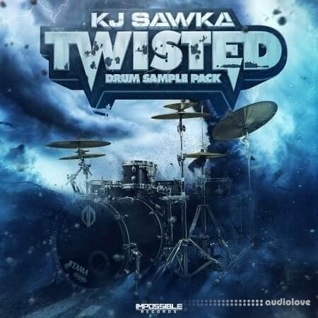 Impossible Records KJ SAWKA Twisted Drum Sample Pack WAV
