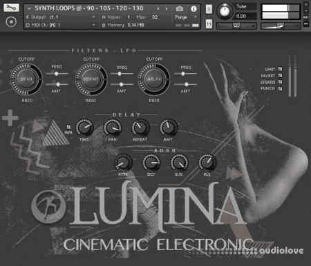 Famous Audio Lumina Cinematic Electronic