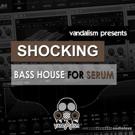 Vandalism Shocking Bass House Synth Presets