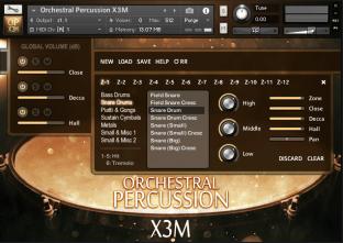 Strezov Sampling Orchestral Percussion X3M