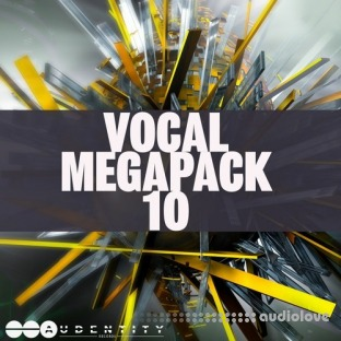 Audentity Records Vocal Megapack 10