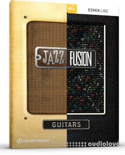 Toontrack Jazz and Fusion Guitars EZmix Pack