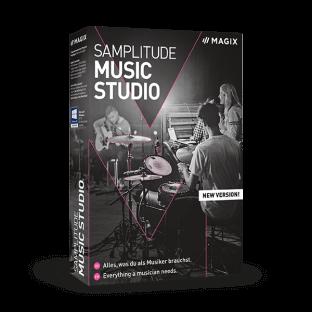MAGIX Samplitude Music Studio 2021 Portable