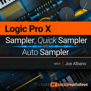 MacProVideo Logic Pro X 210 Sampler, Quick Sampler and Auto Sampler