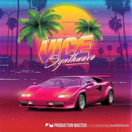 Production Master Vice Synthwave WAV
