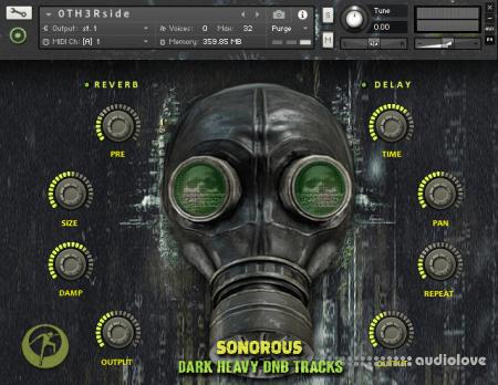 Famous Audio Sonorous - Dark Heavy DnB Tracks KONTAKT