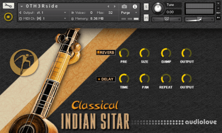 Organic Loops Classical Indian Sitar KONTAKT
