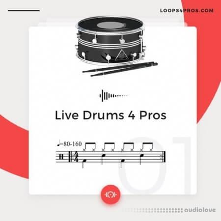 Loops 4 Pros Live Drums 4 Pros WAV