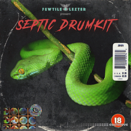 Fewtile x Lezter Septic Drum Kit WAV