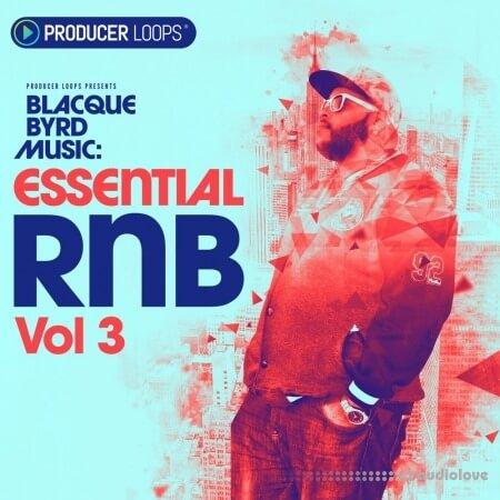 Producer Loops Blacque Byrd Music Essential RnB Vol.3