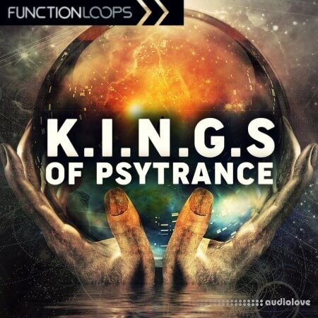 Function Loops Kings Of Psytrance WAV MiDi