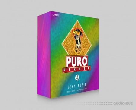 Geka Music PURO PERREO Reggaeton Library WAV MiDi DAW Templates