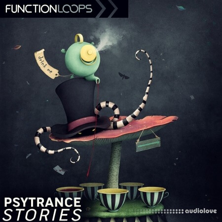 Function Loops Psytrance Stories WAV MiDi Synth Presets