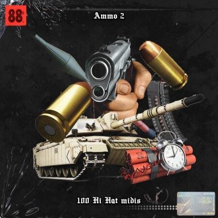 ProdByJack Ammo Hi Hat Midis Vol.2
